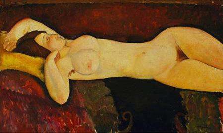 Akt von Modigliani aus dem Museum of Modern Art, New York